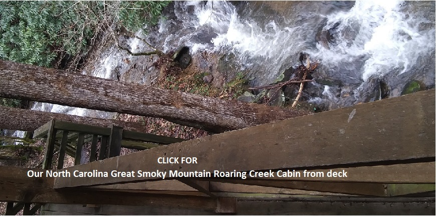 North Carolina Roaring Creek Cabin for rent